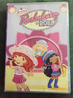 Strawberry Shortcake: Rockaberry Roll (DVD, Checkpoint Sensormatic Pan and Scan Valentine Faceplate) for sale online Anime Rating, Anna Blue, Strawberry Shortcake Characters, Disney Rooms, Angel Cake, Dvd, Childhood Toys, Cooking With Kids, Blue Berry Muffins