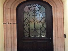 Ornate Iron Door