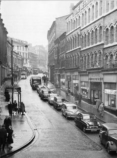 Albert St. 1960. Birmingham Jewellery Quarter, Birmingham City Centre, Birmingham England, 2nd City, City Buildings, Sheffield, Historical Photos, Old Town, Places To See