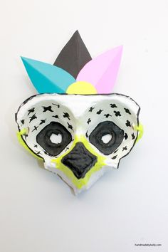DIY Egg Carton Masks