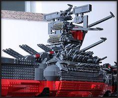 Space Battleship Yamato in lego