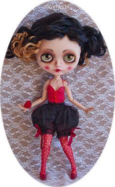 pretty little showgirl flapper in her knickerbockers