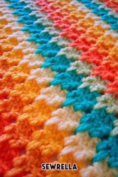Watch This Video Beauteous Finished Make Crochet Look Like Knitting (the Waistcoat Stitch) Ideas. Amazing Make Crochet Look Like Knitting (the Waistcoat Stitch) Ideas. Crochet Afghans, Crochet Motifs, Crochet Stitches Patterns, Stitch Patterns, Knitting Patterns, Crochet Blankets, Crochet Scarves, Unique Crochet Stitches, Baby Blanket Crochet Edging
