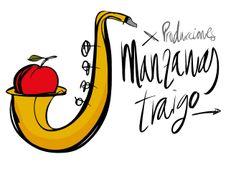 Logo productora Manzanas Traigo. tonipalanca #diseño #ilustración #diseñografico #design #graphicdesign