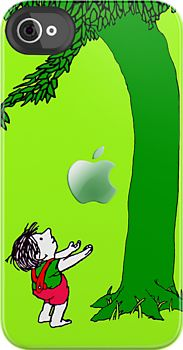 Made in USA, Great Case, Sharp image & Fast Shipping.   Giving tree with an apple iphone 4 4s, iPhone 3Gs, iPod Touch 4g case.  So cool!