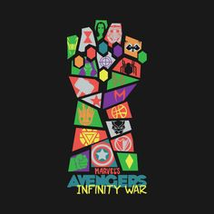 Check out this awesome 'Avengers Infinity War Pop Art' design on @TeePublic!