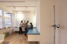 The rising sun - ERCO LED lighting for medical practice | lighting.eu