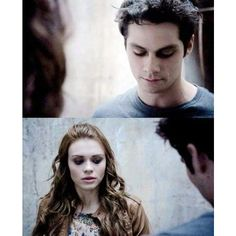 Stiles And Lydia ❤ liked on Polyvore featuring teen wolf