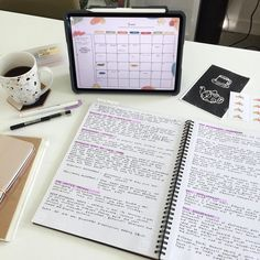 """lily 🍂 on Instagram: """"What's one of your goals for June?  It'll be semester 1 exam time for me, so setting and working towards short term goals is becoming more…"""" College Notes, School Notes, Study Desk, Study Space, School Motivation, Study Motivation, Study Table Organization, Organization Ideas, Exam Time"""