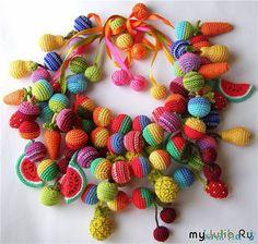 DIY: Crochet Bead (Сделай сам: Обвязываем бусинку)