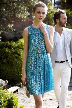 Shimmer Spot Dress - Anthropologie