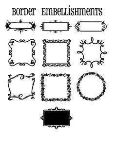 Stencil Font, Stencil Patterns, Doodle Patterns, Stencils, Halloween Frames, Scary Halloween, Vinyl Monogram, Feminine Tattoos, Vintage Fonts