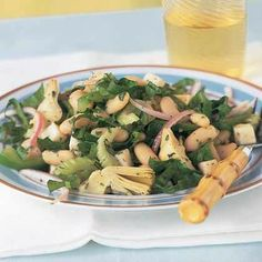 Italian White Bean-and-Artichoke Salad by Cooking Light