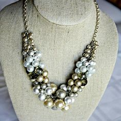 Spotted while shopping on Poshmark: Glass Pearls Necklace! #poshmark #fashion #shopping #style #Lia Sophia #Jewelry