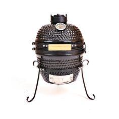 "13"" Ceramic Smoker Grill in Black - Kahuna KH-13B"