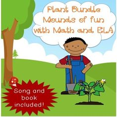 50% off April 11th-April12th. This is a fantastic Science bundle for your kiddos that also reinforces Math/ELA skills. We have task cards, Scoot games, printables, an Mp3 song, and more. Over 100 pages to keep your kids interested in plants for awhile. $ #plants#MP3 song#books#spring#ELA#math#printables#bundle#coloring book#teaching ideas#education