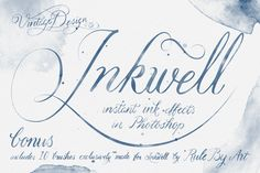 Check out Inkwell - Instant Ink Effects by Vintage Design Co. on Creative Market