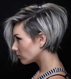 Graduated Bob Hairstyles Are The Latest Trend: #1. Asymmetric Bob Hairstyle