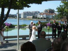 Green wedding ceremony