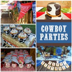 Yee haw! Cowboy Party Round-up