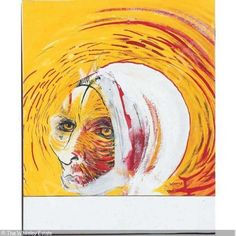 Brett Whiteley Early Art | WHITELEY Brett,VAN GOGH WITH BANDAGED EAR,Sotheby's,Melbourne