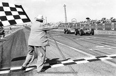 Giancarlo Baghetti wins the French Grand Prix at Reims  1961