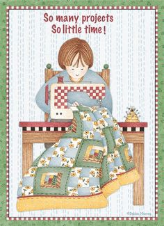✯ - awe, she knows quilters!!