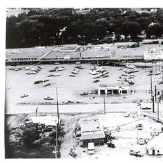 Flooding in Baken Park, Rapid City Flood 1972