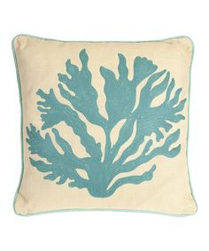 Look what I found on #zulily! Coral Throw Pillow by IMAX #zulilyfinds