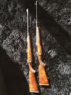 """""""Brothers in Arms"""" The perfect pair. Rigby and Mauser. Both in 416 Rigby caliber"""