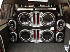We have car stereos, car speakers, DVD/Car multimedia, Amps, Subs, Alarms and Audio repairs