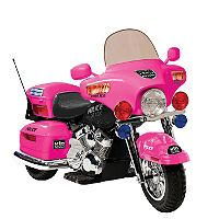 12V Police Motorcycle in Pink - Sam's Club Little Girl Toys, Toys For Girls, Kids Toys, Little Girls, Pink Motorcycle, Motorcycle Battery, Motorcycle Outfit, Moto Rose, Power Wheels
