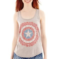 Marvel® Shield Graphic Tank Top  found at @JCPenney