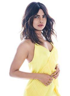 Priyanka Chopra wears yellow Kenzo dress
