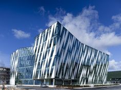 Saxo Bank Headquarters in Tuborg Harbour in Copenhagen, Denmark by 3XN Architects