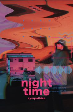 Poster Discover One Poster A Day by Mimo Graphic Design Graphic Art Glitch Aesthetic Night Time Women Artists Poster Visual Art Photo Manipulation Kids Graphic Design, Geometric Graphic Design, Minimalist Graphic Design, Church Graphic Design, Graphic Design Flyer, Graphisches Design, Design Brochure, Environmental Graphic Design, Rico Design