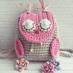 "New Cheap Bags. The location where building and construction meets style, beaded crochet is the act of using beads to decorate crocheted products. ""Crochet"" is derived fro Crochet Girls, Love Crochet, Crochet Toys, Knit Crochet, Crochet Designs, Crochet Patterns, Crochet Backpack, Crochet Shell Stitch, Crochet Handbags"