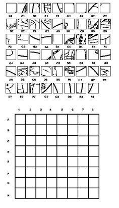 These free drawing grid enlargement worksheets are ...