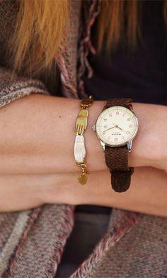 watch & bracelet- Miss Moss