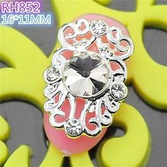 Tint 10PCS RH852 Special Design Hollow-Out Luxury Zircon 3D Alloy nail art DIY Nail beauty Nail Decoration Nail Salon -- Read more reviews of the product by visiting the link on the image.