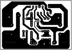 PCB layout Stereo 80Watt Audio Amplifier TDA7294