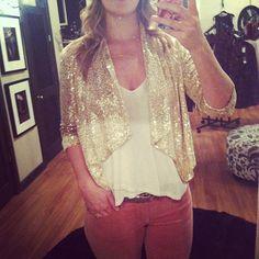 Sequin blazer   @isabelleandco Instagram
