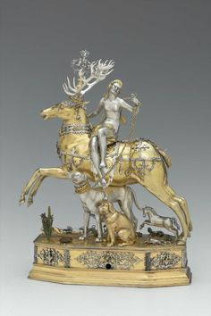 Diana and Stag Automaton Joachim Fries, 1610-1620 The Museum of Fine Arts, Boston