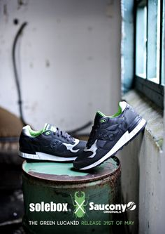 "Solebox x Saucony Shadow 5000 - ""Green Lucanid"" 5ec03167ccb"