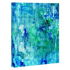 Rosie Brown Blue Grotto Art Canvas | DENY Designs Home Accessories