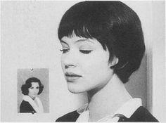 Anna Karina in Vivre sa vie, 1962
