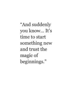 start something new // motivation // metropolitan life style //