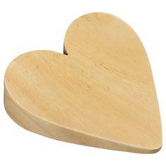 Wooden Heart Doorstop online at JohnLewis.com - John Lewis