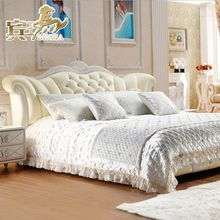 Leather Bed - Bed - Furniture / Office Furniture - Lynx Lynx Tmall.com- yet, purchased