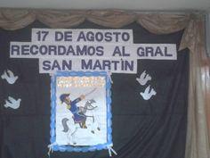 17 de agosto Recordamos al gral San Martín T Shirt, August 17, Initials, Classroom, Activities, Historia, Hipster Stuff, Supreme T Shirt, Tee Shirt